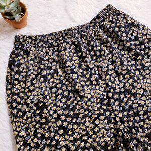 Pants - Vintage sunflower flowy pants!